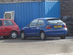 1996 Rover 214i (GoldScotland71) Tags: cars 200 scrap 1990s n39gsc