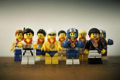 LEGO OLYMPICS (allancrutchley) Tags: lego olympics london2012 minifigures