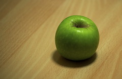 An apple (aliclubb) Tags: apple nikon d3
