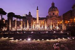 Colonna Traiana e Fori Imperiali (Sergio.Poppi) Tags: roma canon foriimperiali colonna colonnatraiana traiana eosm samyang12mmf2ncscs