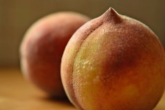 (adelina_tr) Tags: peach fruits summer nikond5300 nature dof