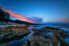 Last Light at Lighthouse Park (Travis Rhoads) Tags: 2016 brittishcolumbia canada canonef1740f4l coastal copyright2016 filters landscapephotography leebigstopper leefoundationkit lighthousepark longexposure metaboneseftoeivt nikcollectionbygoogle ocean sonyilce7rm2a7rii sunset travisrhoadsphotography westvancouver