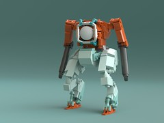 Stalker (KANICHUGA) Tags: lego mech mecha military moc cyberpunk