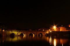 2016-07-29_02-39-55 (andrea.suzzi1985) Tags: italia italy rimini ponte notte night bridge emiliaromagna reflaction lights luci lungaesposizione canon1200d canon pontetiberio
