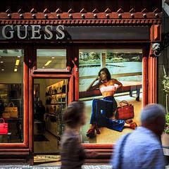 Guess-1 (wengeshi) Tags: prague shopping travel europe czech republic street store