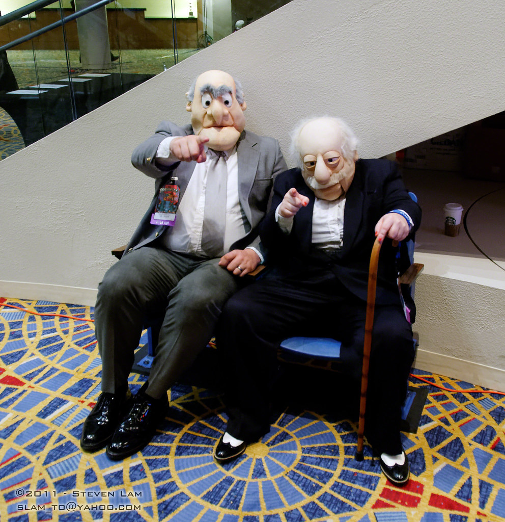 50 Best Statler And Waldorf Images On Pinterest: The World's Best Photos Of Cosplay And Muppets