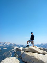 One step from heaven (Lost in Flickrama) Tags: yosemite nationalpark hiking backpacking adventure johnmuirtrail wilderness granite rocks pinetrees california