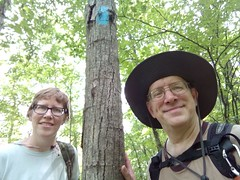 Laura & Joseph Frederick (North Country Trail) Tags: whitecloud exploremore getoutside boardwalk findyourpark barrycounty whiteriver paw print geochaches wildflowers bear kentcounty puremichigan bitely lowell mi michigan nationalheadquarters mushrooms flowers hike100nct hiking plants headquarters