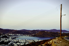 Skala (cNansy) Tags: landscape sea sunset sky colours skala patmos greece light power calmness island aegean