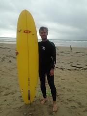"""Mon nouveau surf 7'6"""" (Jauss) Tags: jules bretagne ocean surf quiberon"""