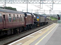 Milton Keynes (DarloRich2009) Tags: wcrc westcoastrailwaycompany westcoast westcoastrailways class37 37516 lochlaidon 47760 class47 lmsjubileeclass lmsjubilee jubileeclass jubilee lms londonmidlandscottish 45699 galatea 5699 br britishrailways steam steamengine steamtrain steamloco steamlocomotive