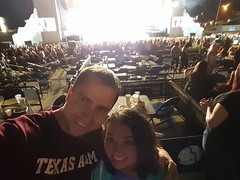 Lisa and Adrian at the Dixie Chicks concert (Aggiewelshes) Tags: september 2016 phone s6 dixiechicks lisa adrian westvalley