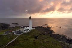 Sunset from Corsewall (iancowe) Tags: corsewall lighthouse kirkcolm sunset evening hotel irish sea loch ryan ferry scotland scottish stevenson clouds nlb northernlighthouseboard mullofgalloway galloway mull stranraer aerial drone dji phantom 4 djiphantom4