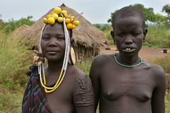 Mursi women (14) (Prof. Mortel) Tags: ethiopia omovalley mursi