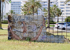 no matter what I do I wont be able to leave you (notmydayj.ob) Tags: wall graffiti calamillor majorca mallorca ruin streetart 1ts5teve