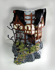 Frederik's Abode (Nathan Pownell) Tags: house tudor lego bricks mocpages im dead ineedasoftbox