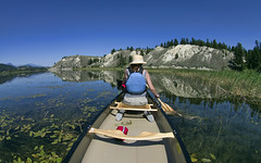 Columbia River Wetlands (John A. McCrae) Tags: columbiavalley columbiariver wetlands canoe river invermere britishcolumbia lakewindermere paddle water peaceful pentax