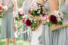 bridal party 02 (Flower 597) Tags: typical weddingflowers weddingflorist centerpiece weddingbouquet flower597 bridalbouquet weddingceremony floralcrown ceremonyarch boutonniere corsage torontoweddingflorist
