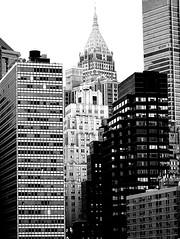 B&W Manhattan (pjpink) Tags: manhattan blackandwhite bw monochrome architecture urban city buildings nyc newyork newyorkcity ny june 2016 summer pjpink