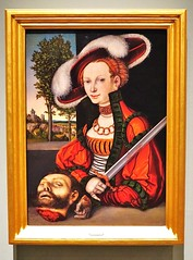 2016.02781a The Burrell Collection, 20 September 2016. Judith with the head of Holofernes, 1539, Lucas Cranach the Elder. (jddorren08) Tags: glasgow burrellcollection scotland fineart decorativearts embroidery needlework ceramics paintings sculpture tapestries armour glass neareasterncarpets orientalart rugs sirwilliamburrell sonyalphaa6000 sigma30mm daviddorren jddorren lucascranachtheelder holofernes judith