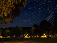 On a Night Like This (in explore 2016-09-23) (Only Snatches) Tags: auto baum campingplatz himmel jahreszeit langzeitaufnahme livecomposite longshot lowersaxony nacht nachtaufnahme natur niedersachsen pflanzen rokinon samyang12mm120 sommer startrails sterne sternspuren tree walimex weseruplands weserbergland wohnwagen campsite car caravan nature night nightscene season sky stars summer heinsen deutschland