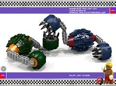 Big Roller CZ1 04 (messerneogeo) Tags: messerneogeo robot mech mecha lego big roller cz1