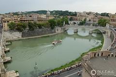 Vista desde el Castel Sant Angelo (nrfer) Tags: fujifilm x20 roma castillo