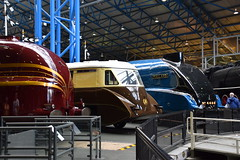 Streamliners (simmonsphotography) Tags: yorkshire train railway railroad locomotive preservation preserved nrm nationalrailwaymuseum museum york steam engine stanier lner streamlined streamliner flyingbanana railcar gresley a4 4468 mallard aec gwr princesscoronation duchessofhamilton 6229