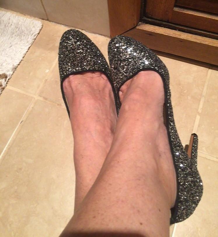 esposa feet fuck