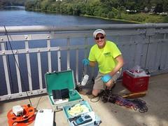 PFC Sampling (Delaware River Basin Commission (DRBC)) Tags: waterquality drbc delawareriver delawareriverbasincommission pfcs toxicity sampling
