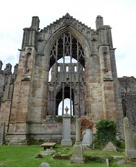Melrose Abbey from the West (chdphd) Tags: melroseabbey melrose abbey
