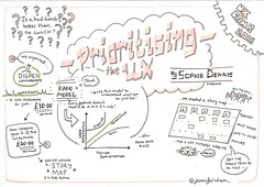 Prioritising the user experience