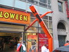 Inflatable Tube Man Spirit Halloween 2016 Store NYC 5827 (Brechtbug) Tags: orange wacky waving inflatable arm flailing tube man sky dancer spirit halloween 2016 store 48th street near 6th ave nyc costume mask stores upper west side manhattan new york city ben cooper halco collegeville logos costumes masks holidays holiday warning villain 60 60s 1960s animated cartoon animation cartoons vintage 50s 70s 80s st 09252016 september poster ad advertisement ads