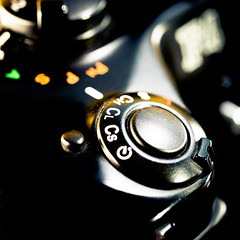 Gear Change (Ben Nakagawa) Tags: 11cameraparts abstract2016 black cameraporn shutter abstract closeup dial fineart mode speed swicth