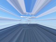 Sailboat on the Horizon (ParkerRiverKid) Tags: scavenger1 ansh73 tunnel sliderssunday hss