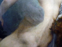 Correggio, Jupiter and Io, detail with embrace