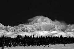 Dark Contrast Mnt McKinley (Ed Boudreau) Tags: blackandwhite bw mountains alaska denali scenicsnotjustlandscapes mntmckinley