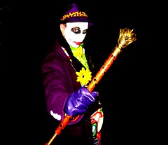 The Joker cosplay - jla trophy room walking cane (the_gonz) Tags: cane walking costume cosplay room batman joker stick dccomics gotham the jla thejoker jlatrophyroom