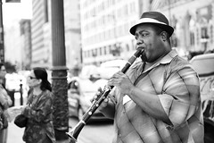 Jazzman (Mo Tabesh) Tags: street musician usa chicago streets illinois livemusic streetportrait buskers busker 2011 motabesh motabeshphotography focalpointimages