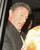 Sylvester Stallone leaves the Ivy restaurant. However, The Expendables star was given a shock after getting in his waiting car when a woman opened the door and asked for some money London, England