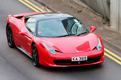 Ferrari 458 Italia, Admiralty, Hong Kong (Kevin Ho  Photography) Tags: red italy black colour classic beauty hongkong italian italia bright top 360 ferrari porsche lamborghini scuderia supercar challenge stradale admiralty f430 612 f355 topgear berlinetta jeremyclarkson 599 458 fiorano worldcars ka369