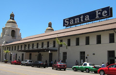 San Diego Santa Fe Depot (3449) (DB's travels) Tags: california railroad santafe architecture sandiego amtrak depot coaster tempcrr
