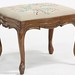 93. Carved French Needlepoint Stool
