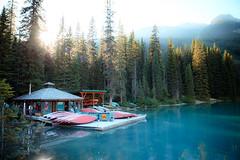 Boathouse (APOLLO13ZX) Tags: canada canon nationalpark banff carlzeiss 2485mm contaxn 5dmarkii