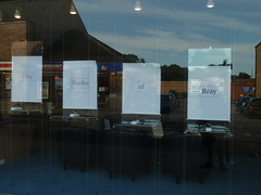 Shop window of David Bray Opticians ... (Charles Wildgoose) Tags: shopwindow clever playonwords fiftyshadesofgrey davidbrayopticians davidbraym fiftyshadesofbray