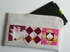 Front... (threekitchenfairies) Tags: cozy pouch envelope tablet tinyblocks
