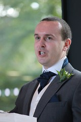 (George_Julian) Tags: wedding wales guests happy cardiff jo weddingday nuptials owain royalwelshcollegeofmusicanddrama welshwedding