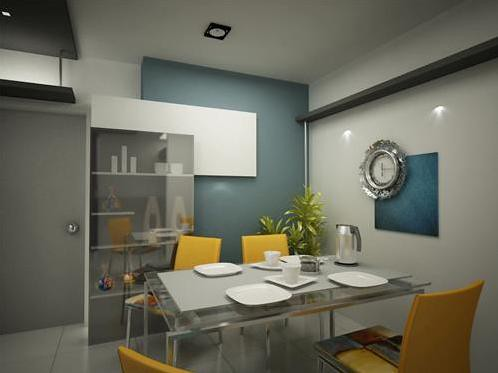 Dinning Room - Ranganath's Residence @ Sahakar...