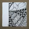central west (shebicycles) Tags: monochrome pen pencil tile square doodle ensemble zentangle