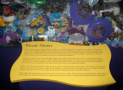 New Orleans - French Quarter - Jackson Square - The Presbytere - Louisiana State Museum - Mardi Gras - Parade Throws (jared422_80) Tags: new museum square french la beads orleans louisiana state no august jackson parade frisbee quarter gras nola mardi 2012 the throws presbytere doubloons